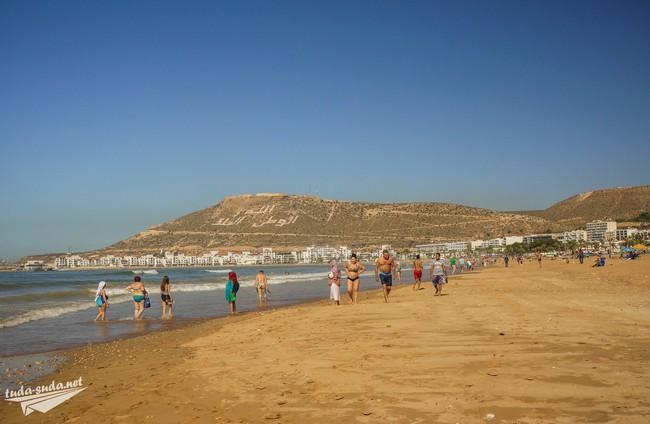 Пляж Агадир