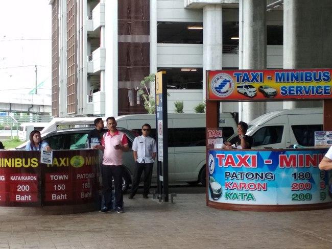 airport phuket minibus