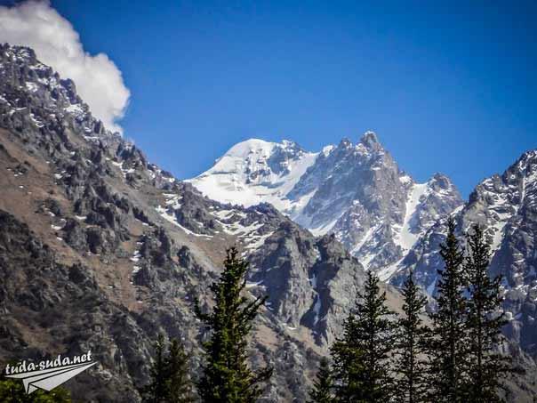 Ущелье Ала-Арча горы