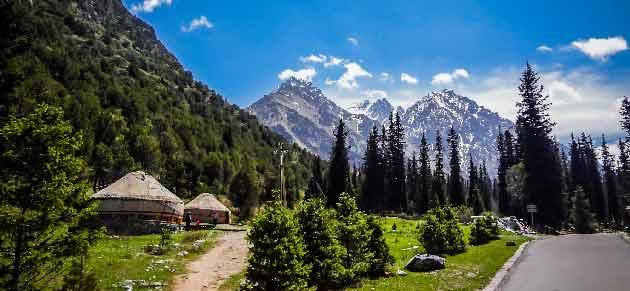 Парк Ала-Арча в Киргизии