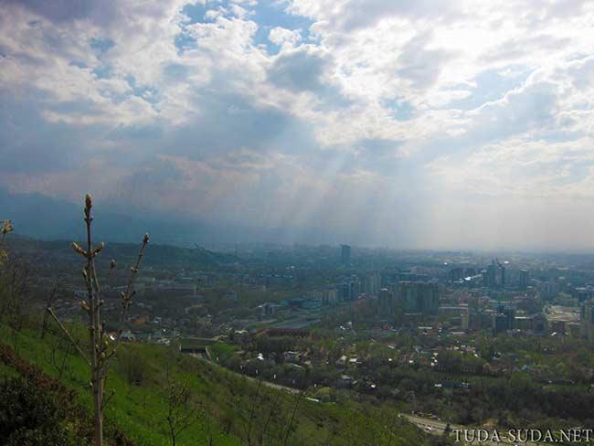 Алматы фото с Кок Тобе