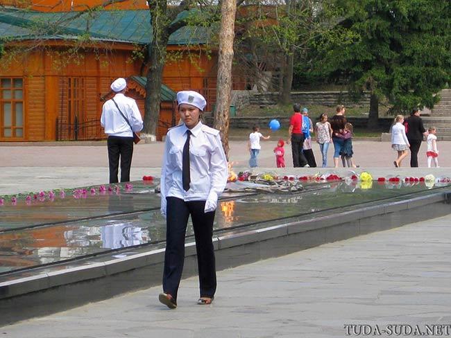 Вечный огонь Алматы