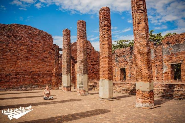 Руины и храмы Аюттайи
