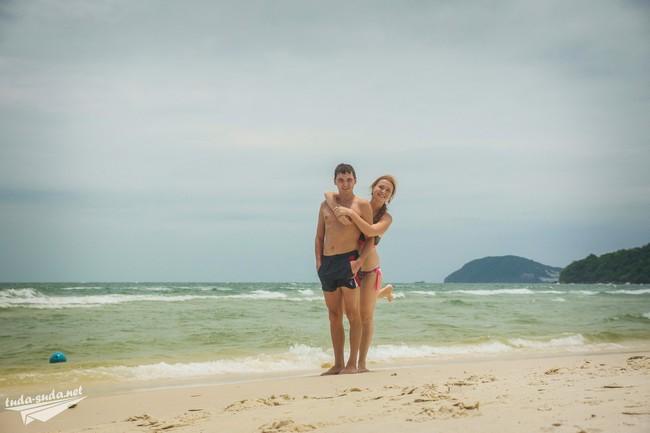 пляж бай сао вьетнам