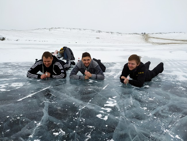 отдых на зимнем Байкале