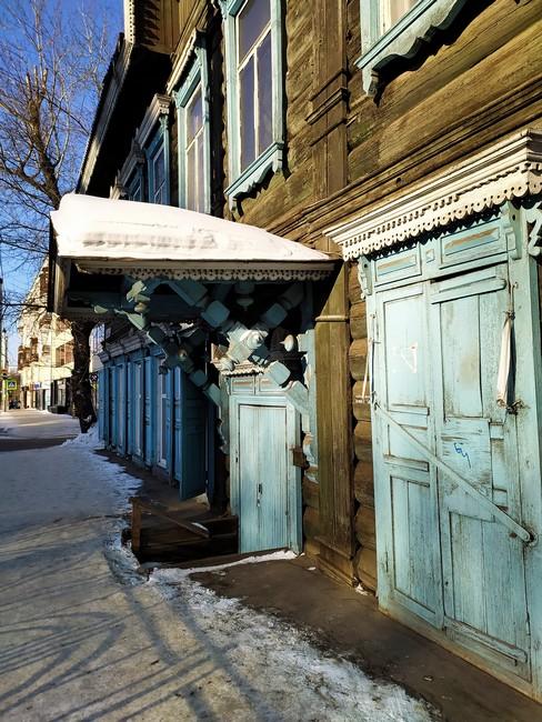 Старые районы Иркутска