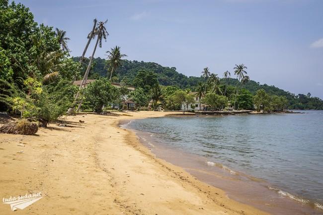 Ко Чанг тихий пляж