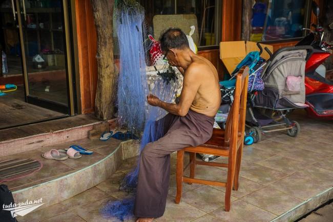 рыбак таиланд