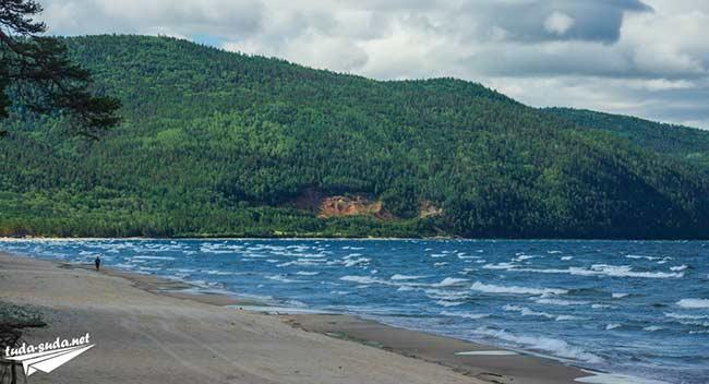 Восточный берег Байкала фото