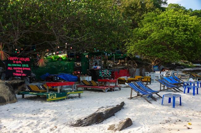 бар на пляже остров самет