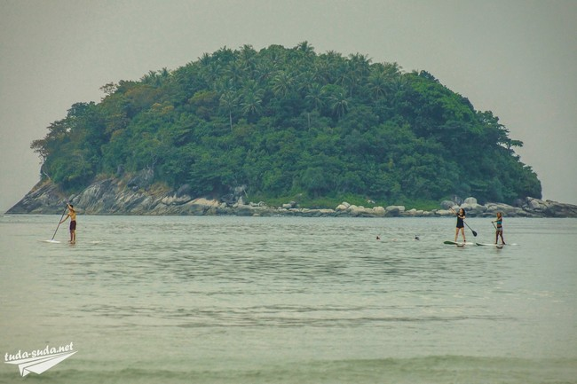 SUP Kata Beach Phuket