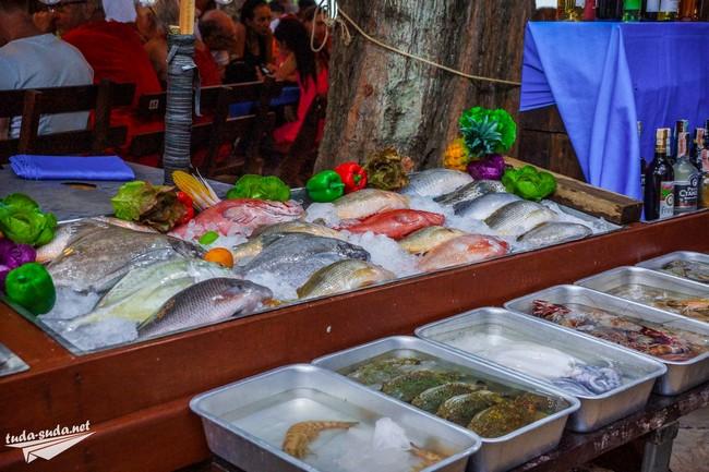 Морепродукты Пхукет