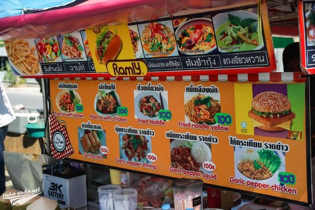 Цены в Патонге на еду