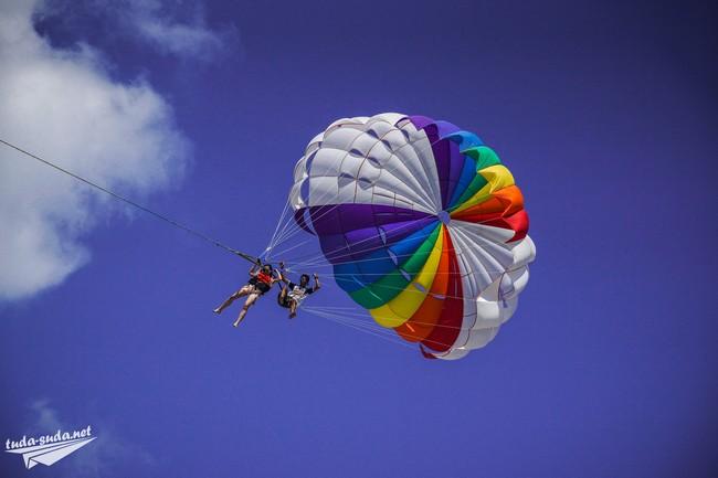 катание на парашюте Патонг