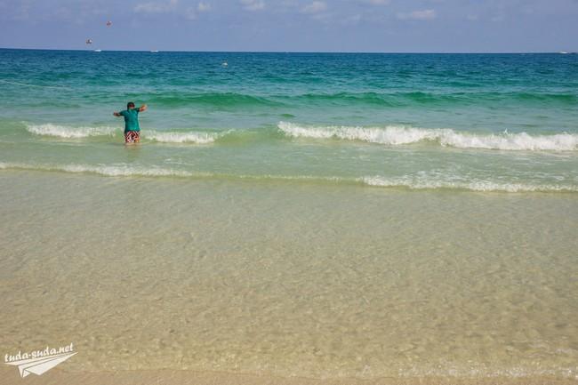 Пляж Сай Кео море