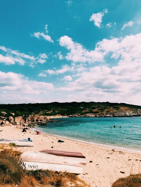 Бозджаада пляж