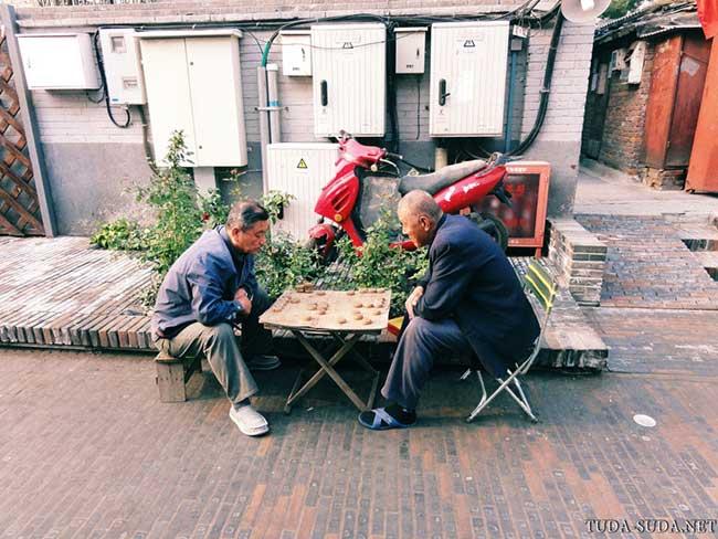 Игра в маджонг, Китай
