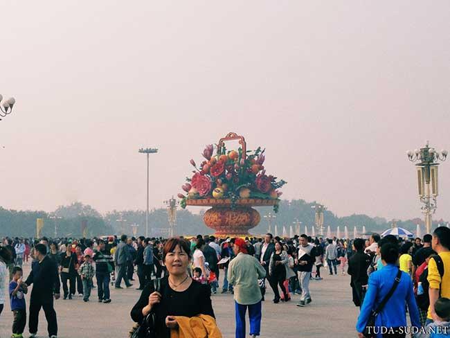 Пекин фото Тяньаньмэнь