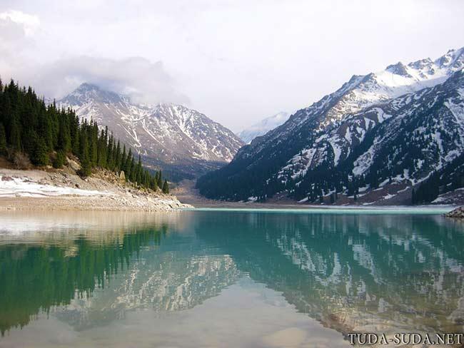 Большое Алматинское озеро фото