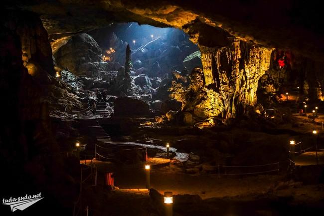 пещера Hang Dau Go