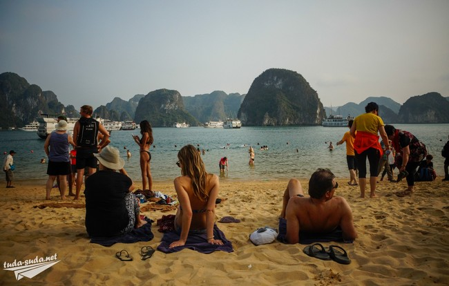 бухта халонг пляжи
