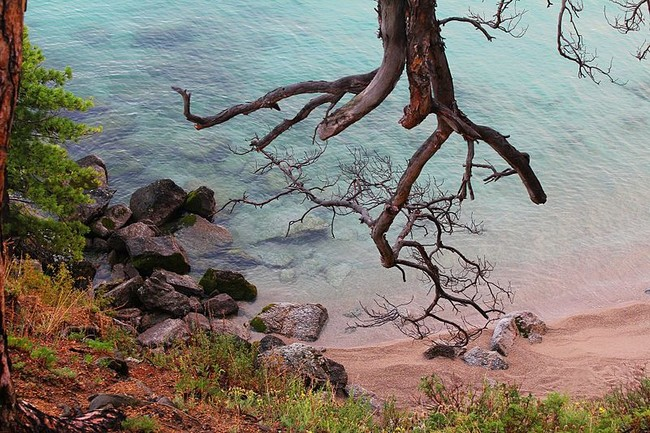 пляж Байкал