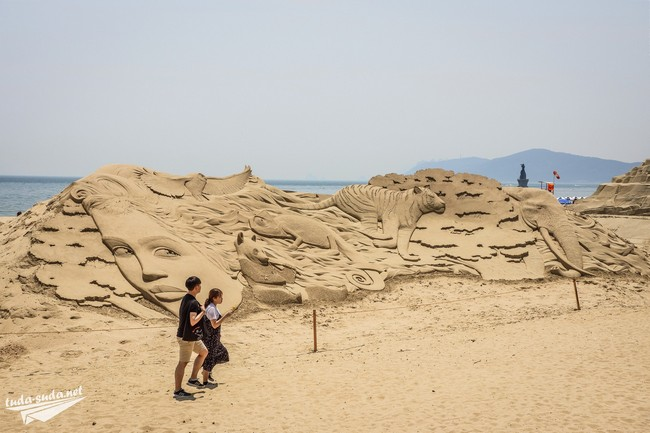 Фестиваль песка Пусан