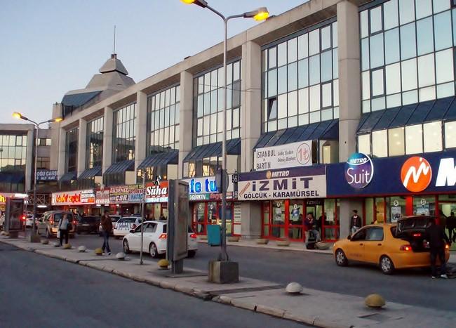 Автовокзал Esenler в Стамбуле