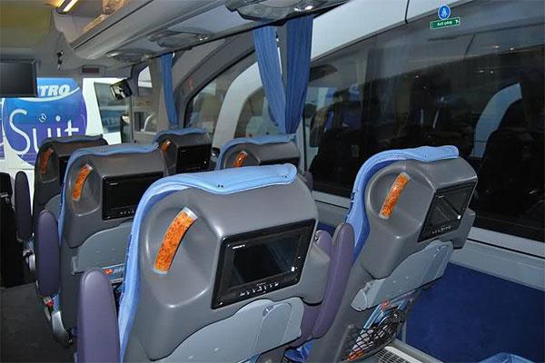 автобус Турция внутри