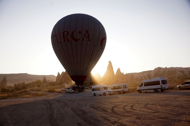 Каппадокия полет на шаре
