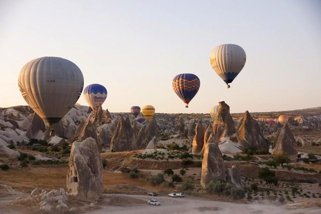 baloons cappadocia turkey