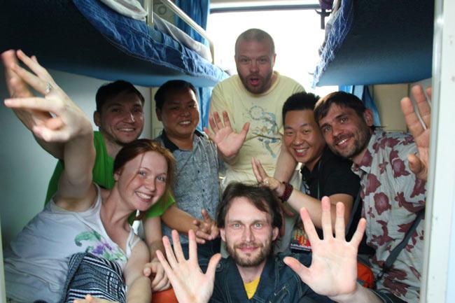 Поезд в Чэнду
