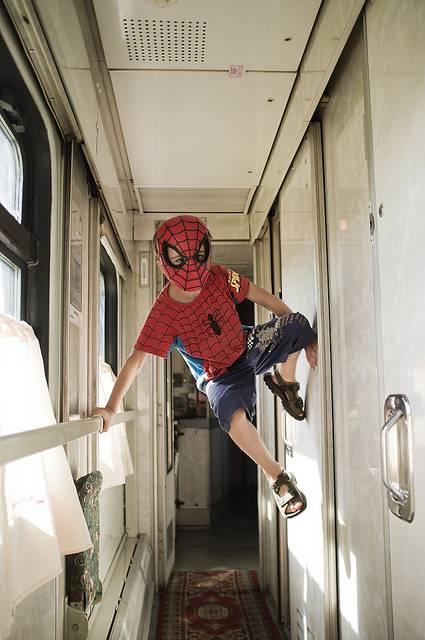путешествие в поезде с ребенком