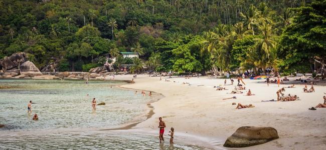 пляж Кристал Бей Самуи