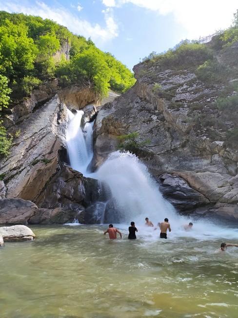 водопад Хучни