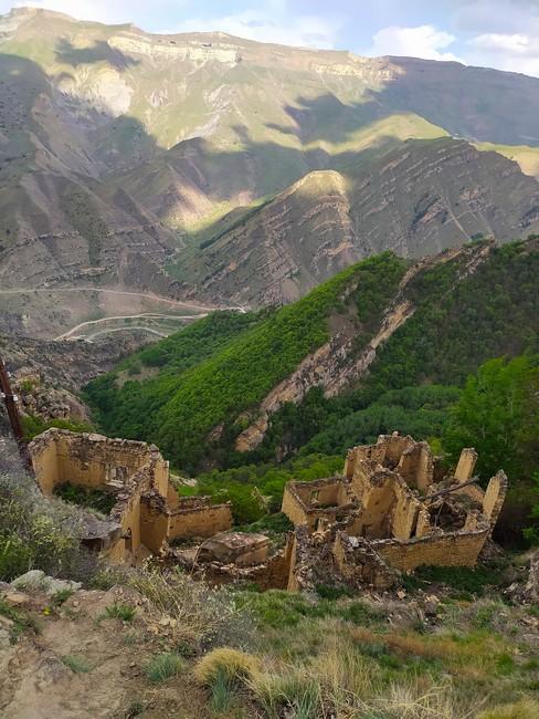 Аул-призрак Дагестан