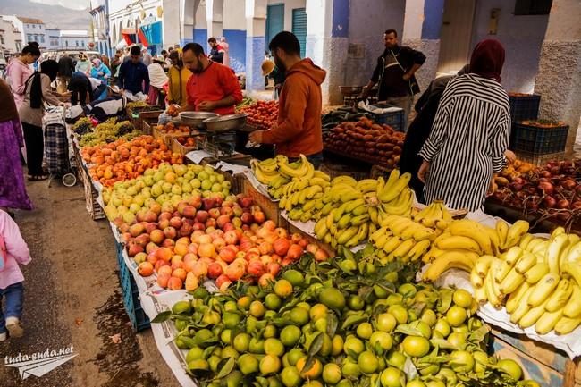 марокко фрукты