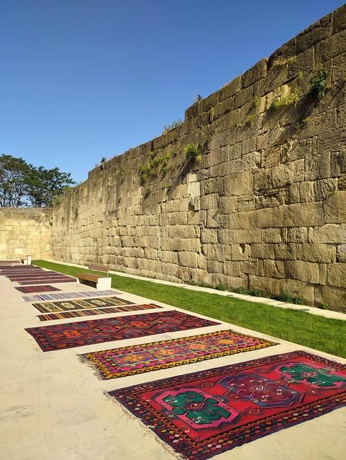 стены Дербент