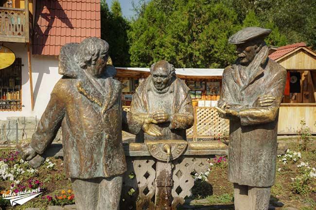 Памятник Мимино в Дилижане