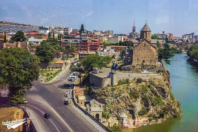 Церковь Метехи Тбилиси