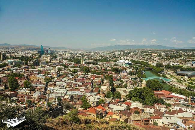 Старый квартал Тбилиси