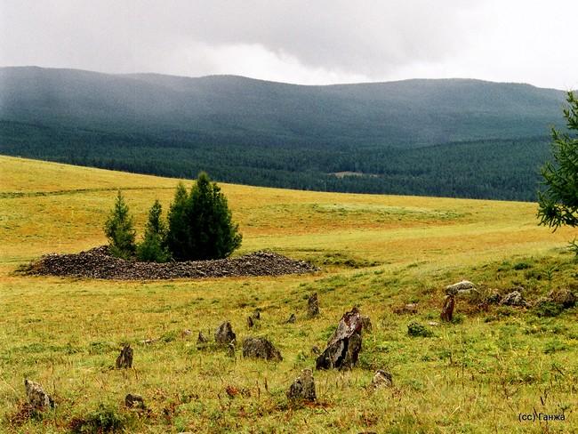 Пазырыкские курганы Горный Алтай