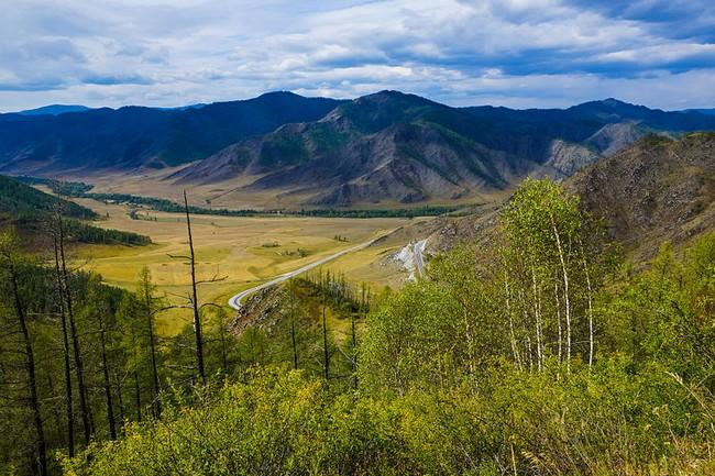 Перевал Чике-Таман Горный Алтай