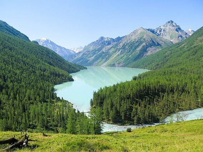 Кучерлинское озеро Горный Алтай