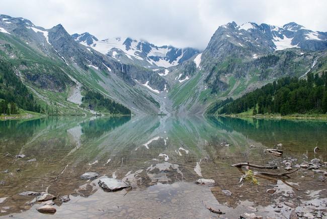 Верхнее Мультинское озеро Алтай