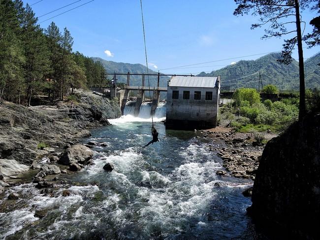 ГЭС Чемал