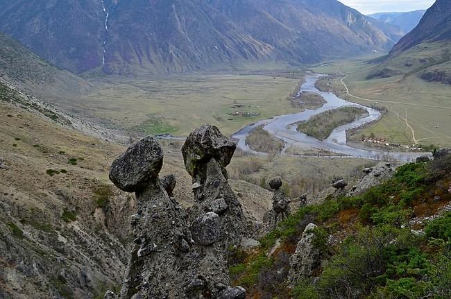 Каменные грибы Горный Алтай