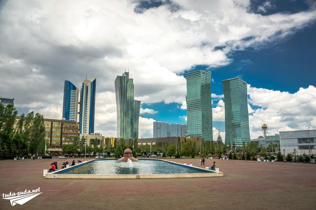 Фонтан Астана