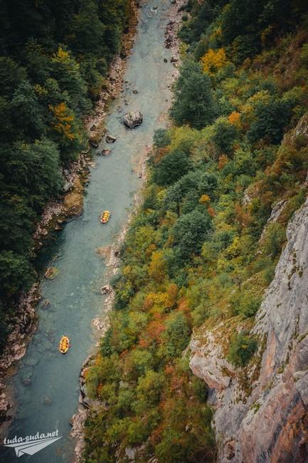 рафтинг Черногория