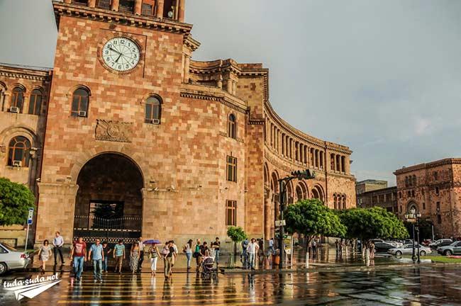 Площадь республики Ереван